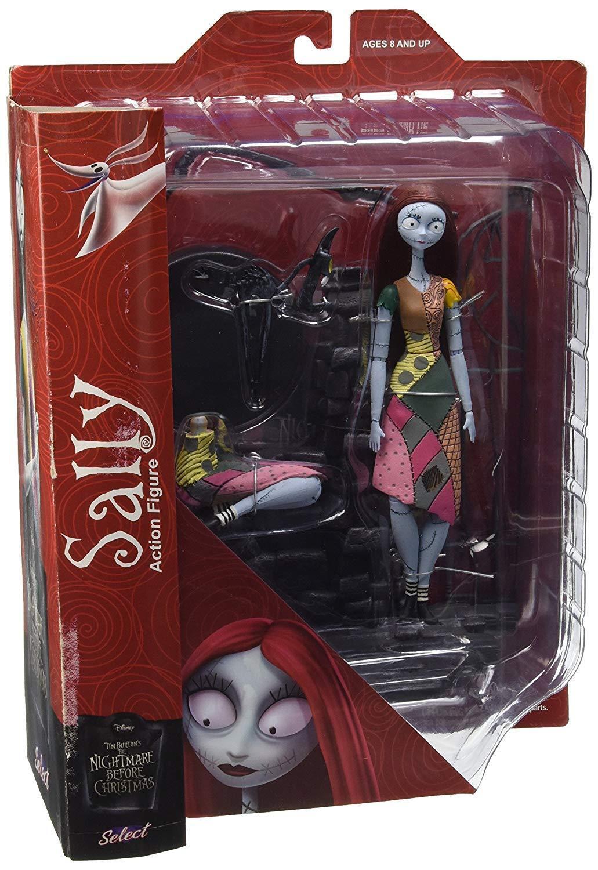 Nightmare Before Christmas Select Sally Action Figure Figure Figure 28b6d2