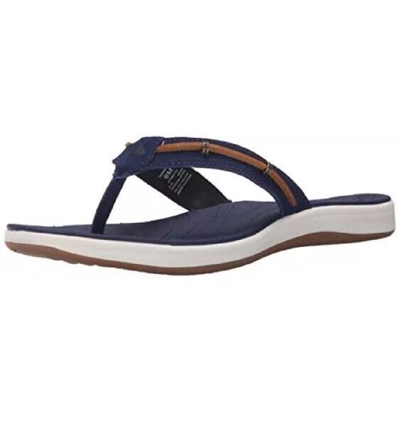 183c6ea8e8e Sperry Top-sider Womens Seabrook Wave Fisherman Sandal Navy tan 5 M US for  sale online