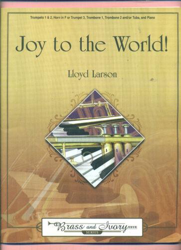 JOY TO THE WORLD BRASS /& IVORY SERIES NEW MUSIC BOOK TRUMPET TROMBONE TUBA PIANO