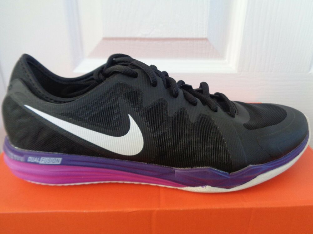 Nike Dual Fusion TR 3 Chaussures Femme Baskets 704940 012 UK 4.5 EU 38 US 7 Neuf + Boîte-