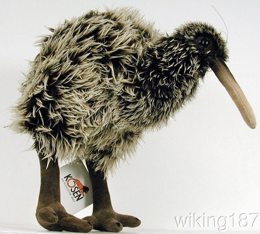 KOSEN Made in Germany NEW Kiwi Bird Plush Toy A New Zealand Native