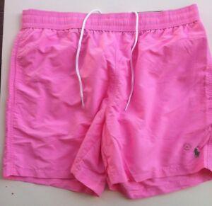 Polo Ralph Lauren Badeshorts Badehose pink Gr. L