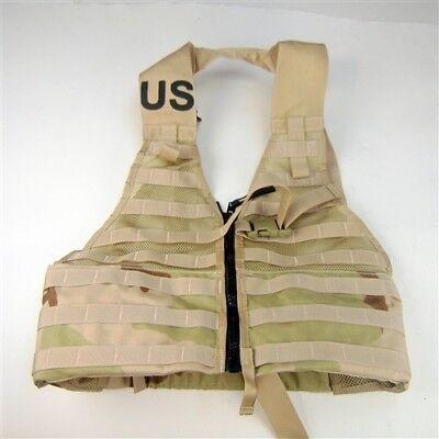 US Army MOLLE II Desert Tan Fighting Load Carrier DCU Vest FLC LBV NEW USGI