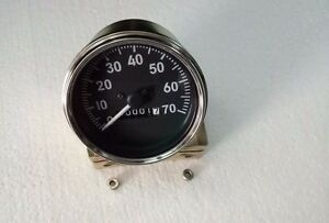 Willys M Series Jeeps, MB, GPW, CJ2A, CJ3A , CJ3B Speedometer - 70