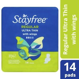 Stayfree-Ultra-Thin-With-Wings-Regular-Cotton-Pads-14pk