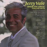 Jerry Vale - Jerry Vale Sings The Great Italian Hits [new Cd] on sale