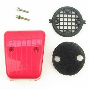 Air Filter Assembly RED Speed Carb Bike Engine Kit 80cc