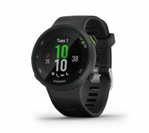 NEW Garmin Forerunner 45 GPS Running Smart Watch 42mm Black FAST FREE SHIPPING