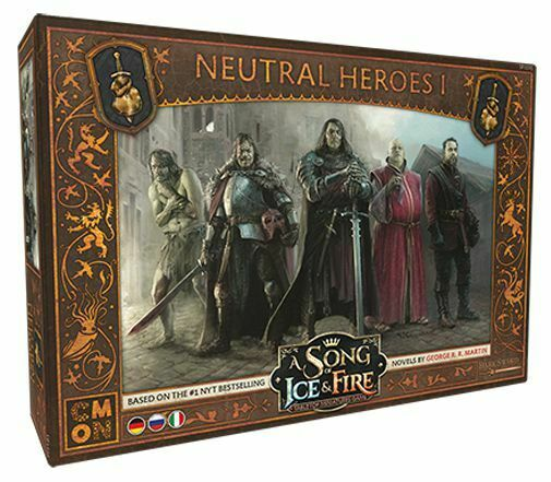 A Song Of Ice And Feu Neutre Héros 1 de It Ru Cool Mini or Not Westeros Cmon