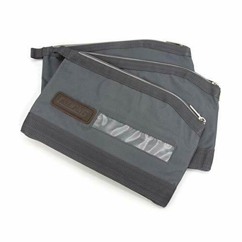 Estwing 94768 Zippered Accessory and Tool Pouch 3-Pack