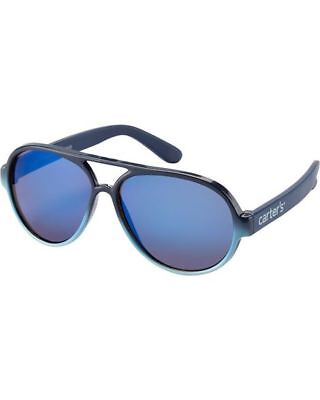 New Carter/'s Sunglasses Blue Aviator size 4 5 6 7  8 year NWT Kid Boy
