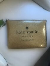 679f8a466e42 item 3 Kate Spade Holiday Drive Gia Pouch Cosmetic Bag Glitter Gold  WLRU2020  78 -Kate Spade Holiday Drive Gia Pouch Cosmetic Bag Glitter Gold  WLRU2020  78