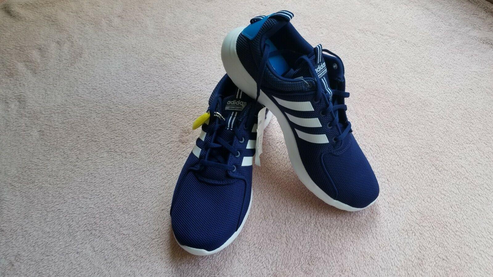 Adidas Men shoes CF Lite Racer Training Fitness  B42167 Size 12 bluee