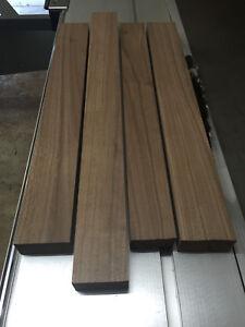 Kantholz Leisten Nussbaum Nuß Massiv Holz Brett Balken Drechselholz Tischbein !