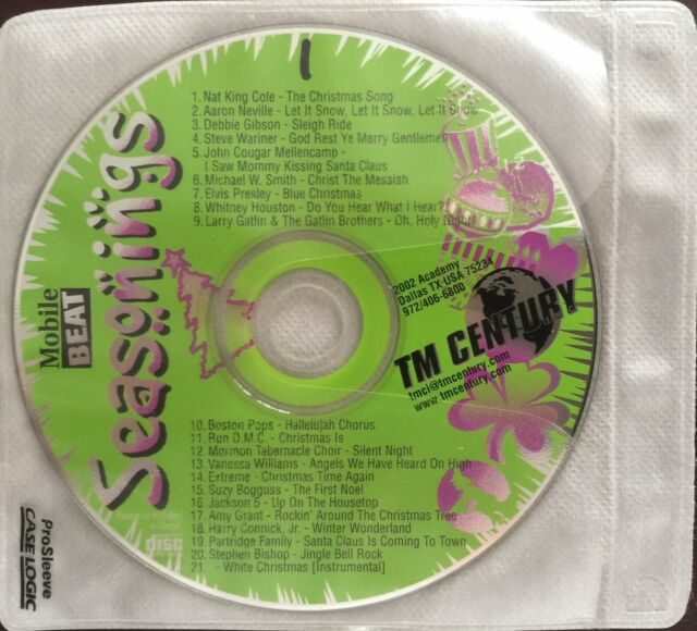 Details about TM Century Promo / DJ / Radio All Occasions Holiday 12 Disc  Set / New-Free Ship!