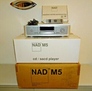 NAD M5 High-End CD / HDCD / SACD Player, XLR, OVP&NEU, 2 Jahre Garantie