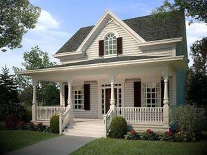 Einfamilienhaus mit Flair - kanadisch/amerik. Holz-Haus, ab 132 m² - Neubau