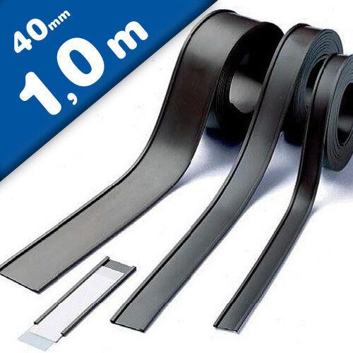 C-Profilé Magnétique pochettes magnétiques pour étiquettes 40 mm vendu au mètre