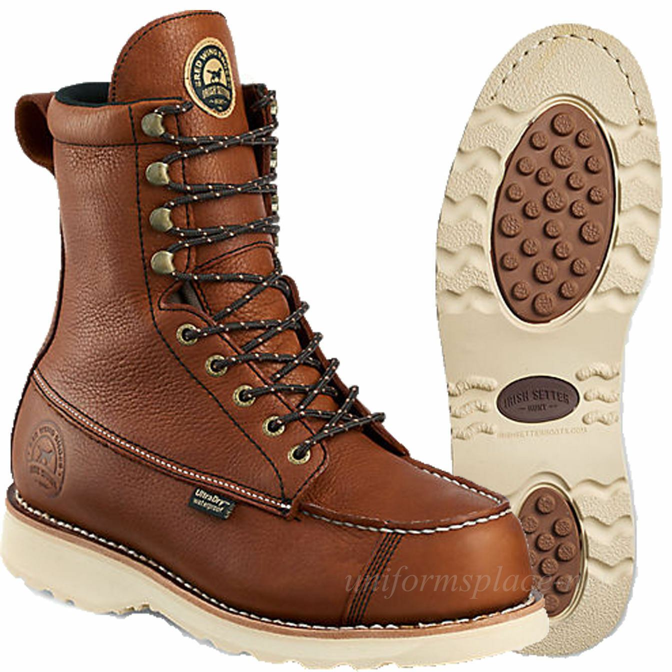 Irish Setter Hunting Boots Mens Wingshooter 9  Waterproof 894