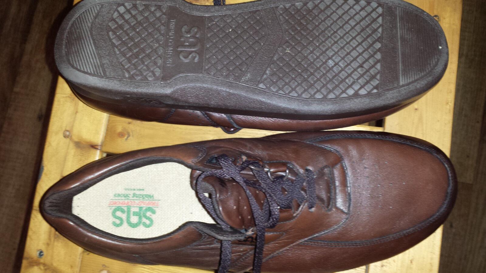 SAS Tripad Comfort Time Out Men's Brown Shoes Leather Sport Oxfords Shoes Brown 15 M a16bdf