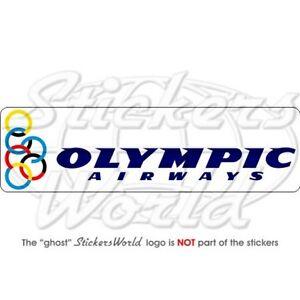 OLYMPIC-AIRWAYS-Fluggesellschaft-Griechenland-200mm-Aufkleber-Vinyl-Sticker