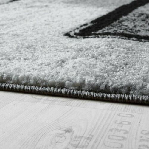 Emilee Black//Grey Rug