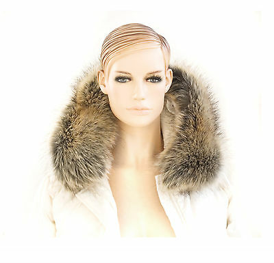 COLLAR FOR HOODS TRIMMING HIGH QUALITY FAUX FUR STRIPE BAND FAKE FUR  SCARF
