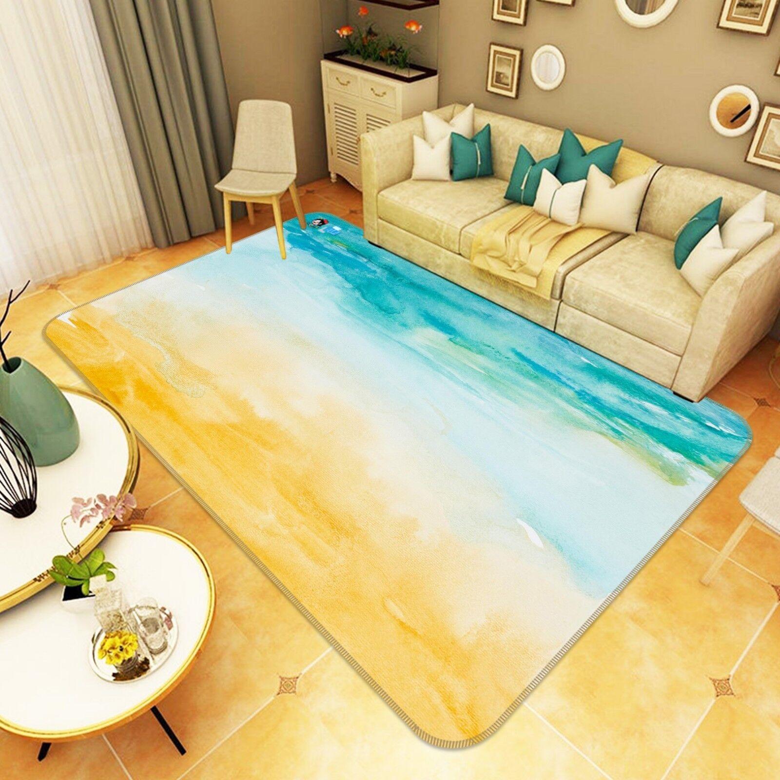 3d dipinto costa 799 antiscivolo tappeto tappetino bagagliaio tappeto elegante de