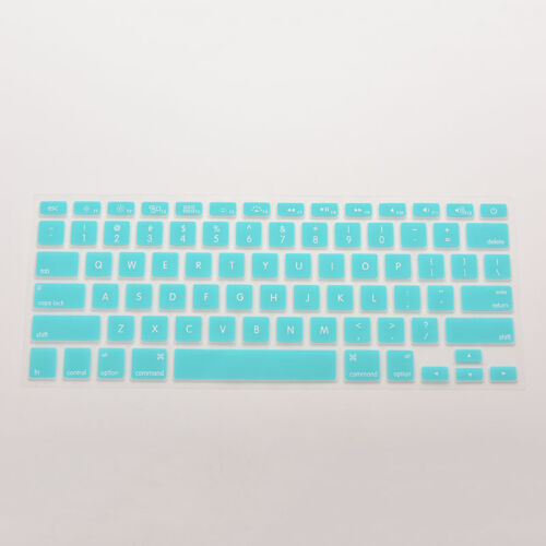 """Colourful Silicone Keyboard Skin Cover Case for Macbook Air Pro 13/""""~17/"""" HF"""