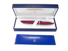 WATERMAN CARENE FOUNTAIN  PEN GARNET RED  18K GOLD  MEDIUM PT    NEW IN BOX