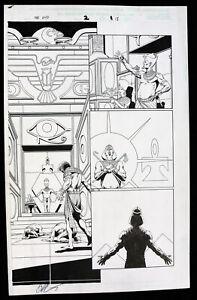 Marvel Universe: Die Ende #2 P.15 - Ägyptischer Pharao - 2003 Art Von Jim