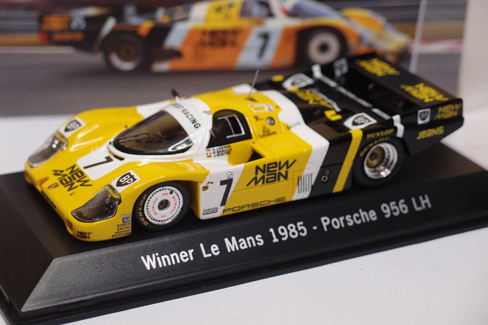 SPARK PORSCHE 956 LH  7 WINNER LE MANS 1985 1 43