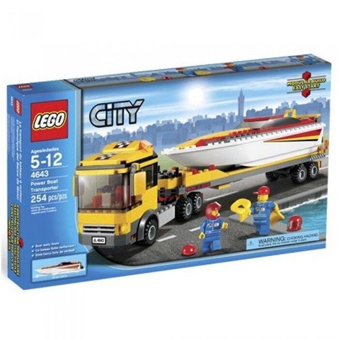 Lego City Power Boat Transporter – 4643 254pcs.