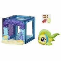 Littlest Pet Shop Mini Style Set With 4023 Flippa Splashley Fish Figure (b2894)