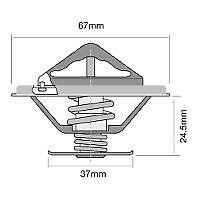 TRIDON-THERMOSTAT-FOR-MERCEDES-BENZ-Trucks-U-600-U-600-L-U-600-T