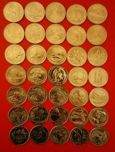 US-NATIONAL-PARKS-QUARTER-DOLLAR-COINS-P-D-or-S-YEAR-SETS-2010-2018-PICK-YOURS