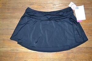 8ce69d9beab A SHORE FIT! Black Swim Skirt Bathing Suit Cover Up Bottoms Women ...