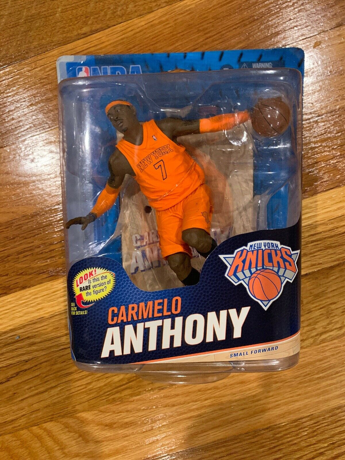 MCFARLANE NBA SERIES 23 autoMELO ANTHONY nuovo YORK KNICKS VARIANT cifra  1741000