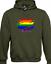 COL PRIDE SLASH HOODY HOODIE GAY LESBIAN PRIDE LGBT RAINBOW FASHION LOVE TOP