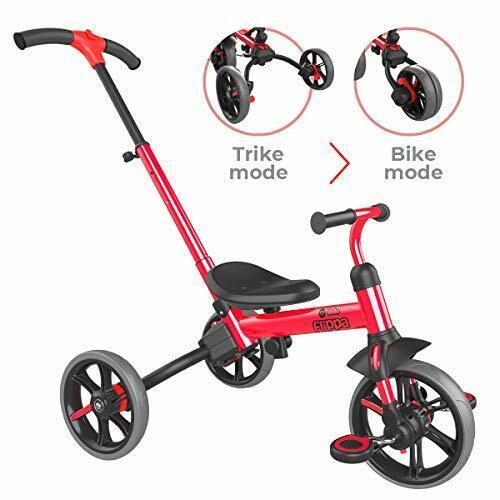 Yvolution Y Velo Flippa Kids Balance Bike to Toddler Trike 4-in-1 2-5 Years