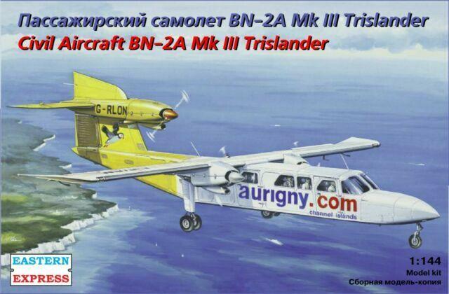 Eastern Express 14491 Civil Aircraft BN-2A Mk III Trislander  model kit 1:144