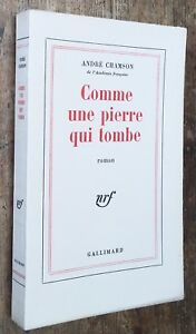 EO-1964-1-23-HOLLANDE-Andre-CHAMSON-COMME-UNE-PIERRE-QUI-TOMBE-excellent-etat