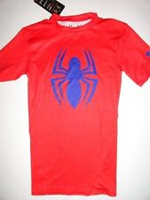NWT Under Armour Spiderman Men's Small HeatGear Compression Alter Ego T-shirt S/