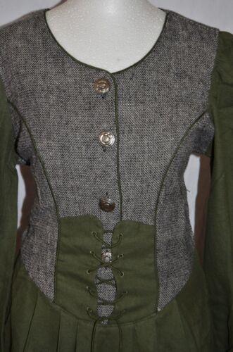 Classic 159 corde Gr Dress 36 Country Joyline Dirndl Con medievale lino 5zqRa4w