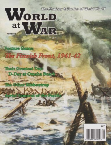 WORLD AT WAR NUMBER 5 THE FINNISH FRONT 1941 - 42 - UNPUNCHED