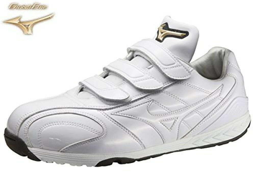 MIZUNO Basball Training scarpe Global elite Light model 11GT1411 bianca X bianca