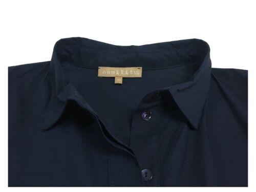 Abito mezza con donna laterali Humility Italy tasche manica in blu 1949 Ha6024 Made 5BUxnBwqF