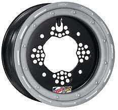 "DWT ROK/'N LOCK ATV Front Beadlock Wheel 10/"" 10x5 4+1 4//144 Honda TRX 450R 400EX"