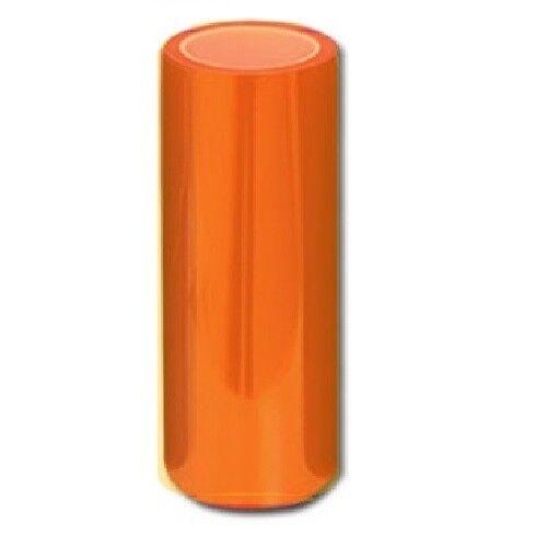 "12/""x24/"" Amber Orange Overlays Fog Tail Head light TINT Vinyl Film Wrap JDM Rolls"