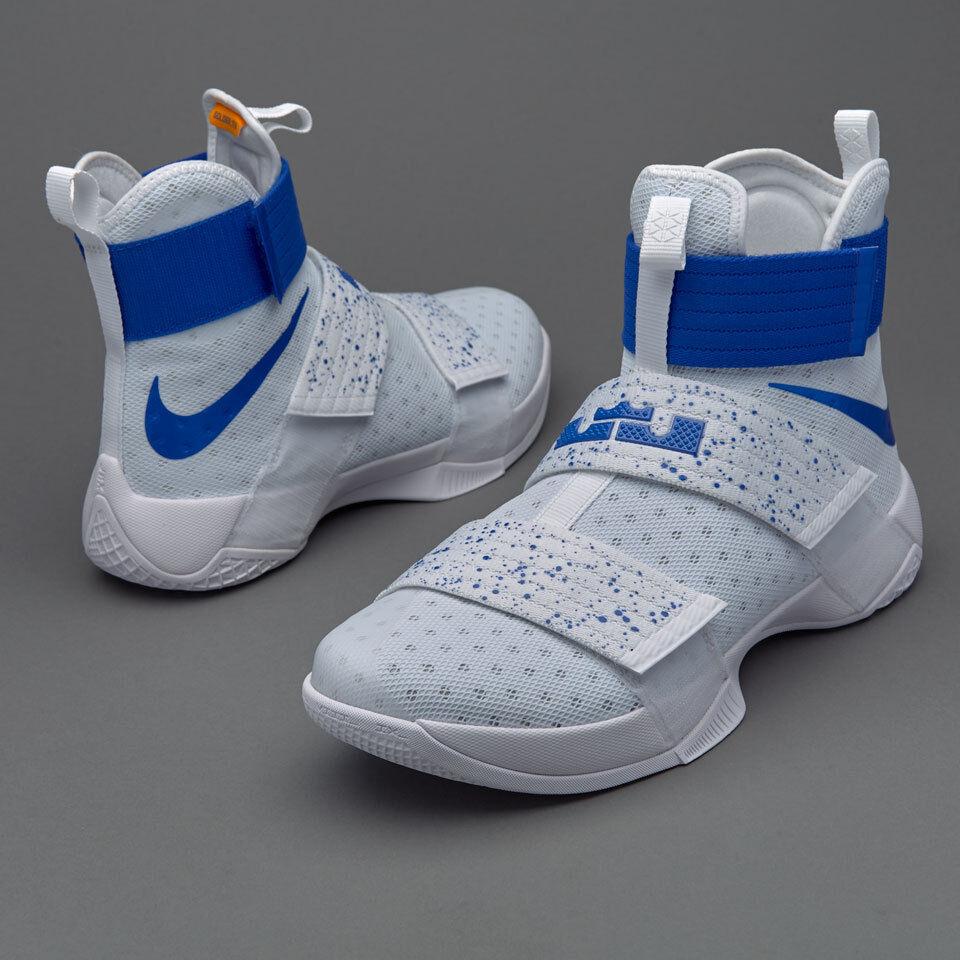 Nike LeBron Soldier 10 Kentucky PE Size 11. 844374-164 kyrie cavs mvp finals